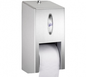 lotus toilet roll dispenser stainless steel vertical system
