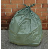 Green Plastic Sacks - 070013G